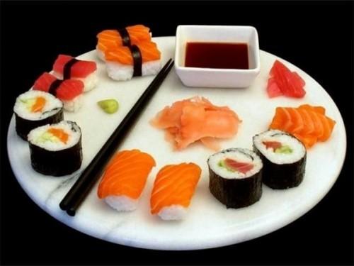 Kiêng ăn sushi