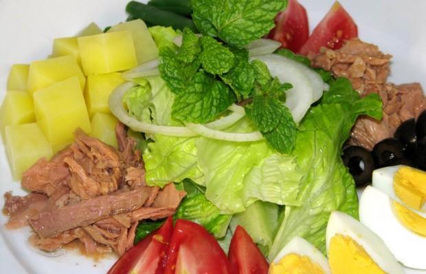 Kiêng an salad