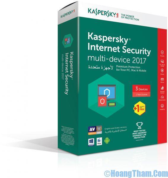 phần mềm diệt virus miễn phí Kaspersky