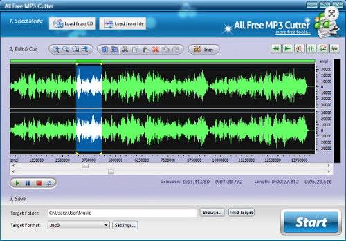 Phần mềm cắt nhạc miễn phí 1