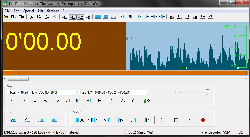 Phần mềm cắt nhạc miễn phí 3