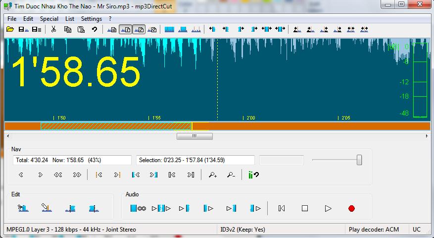 Phần mềm cắt nhạc miễn phí 4