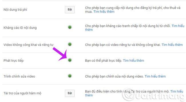 Cách phát trực tiếp live stream trên youtube