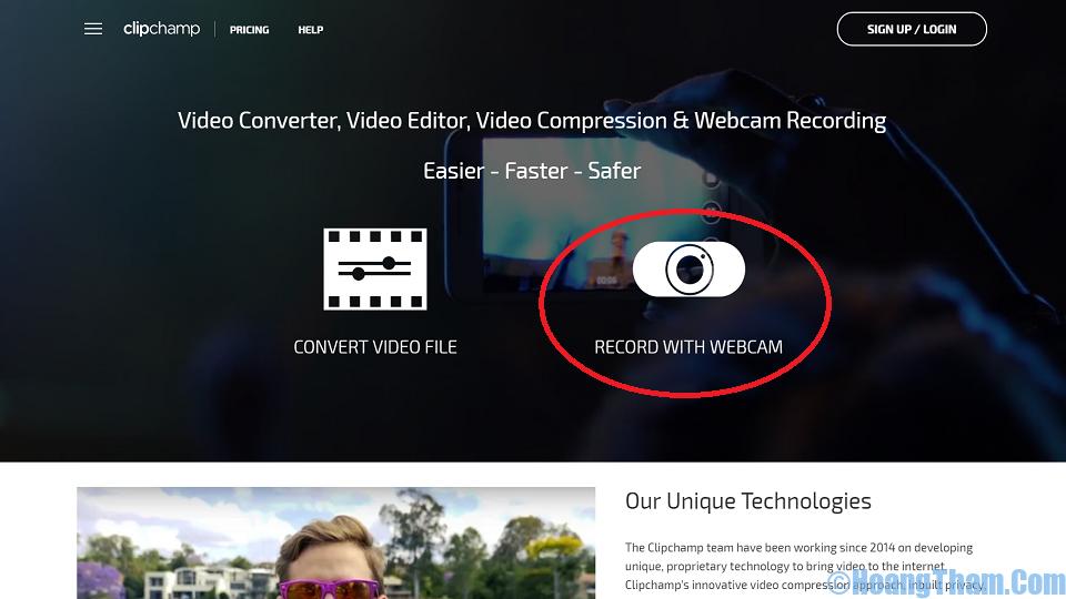 Cách quay video băng webcam máy tính không dùng phần mềm