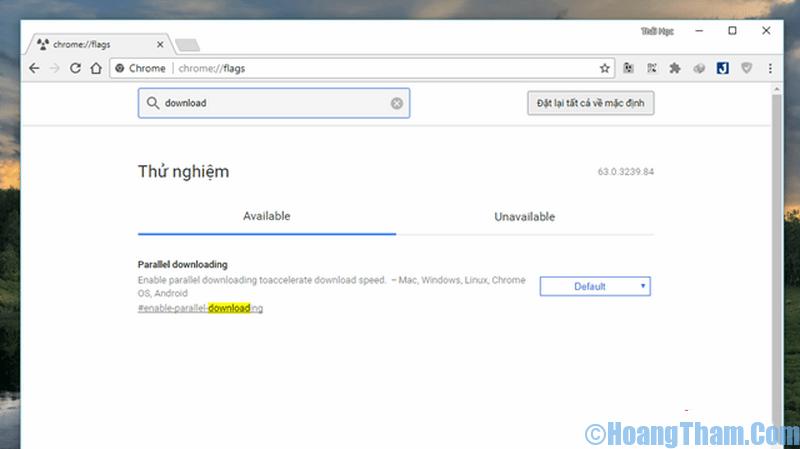 Google Chrome hỗ trợ tải file đa luồng