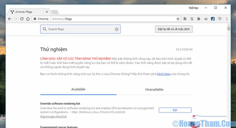 Trình duyệt Google Chrome đã hỗ trợ tải file đa luồng