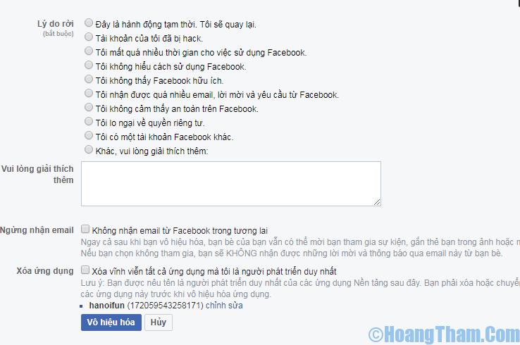 Cách khóa tài khoản facebok tam thời