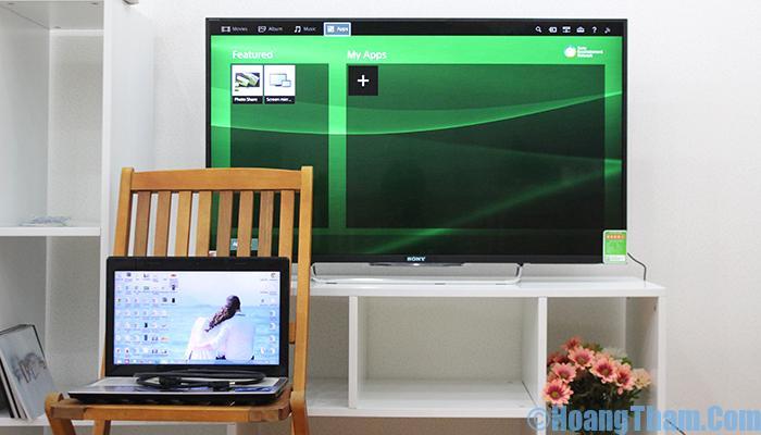 Cách kết nối máy tính với tivi bằng dây HDMI