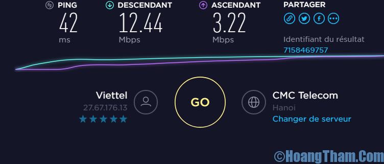 Cách kiểm tra tốc độ mạng internet