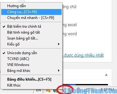 Cách sửa lỗi font chữ trong Excel và Word