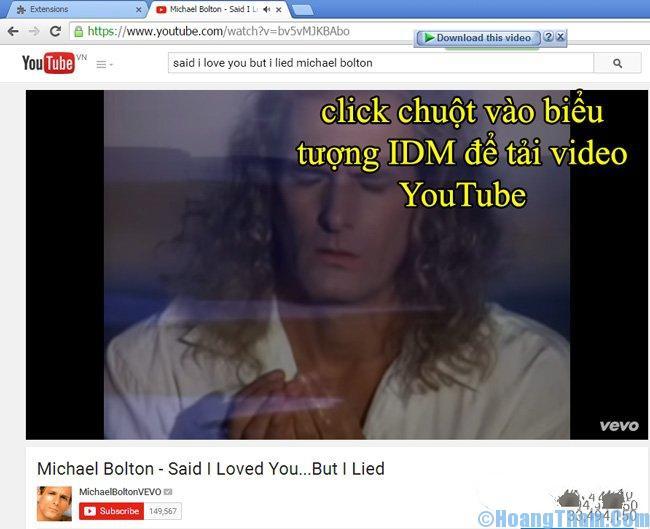 Cách tải video trên Youtube về máy tính