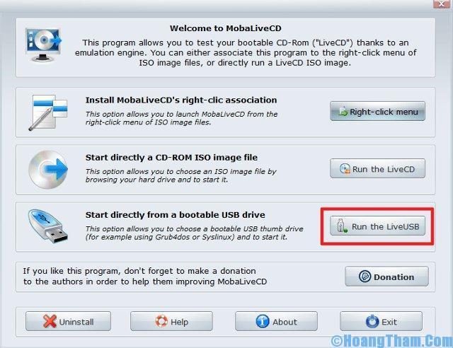 test USB boot băng phần mềm