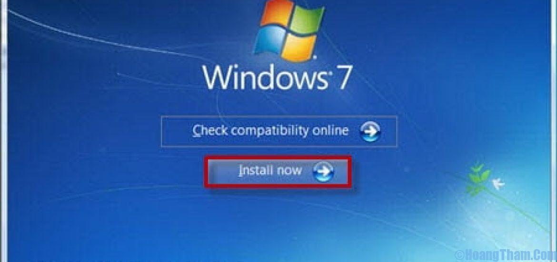 Format ổ C khi cài đặt Windows