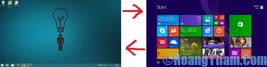phím tắt trên windows 8