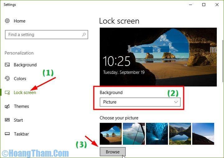 Cách thay đổi màn hình chờ
