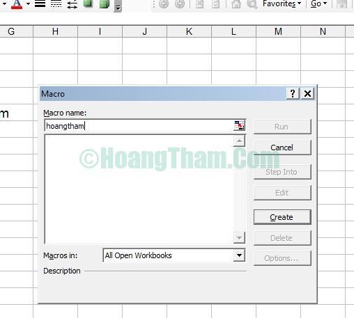 Cách gộp ô trong Excel