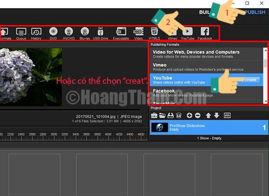 Hướng dẫn làm video chuyên nghiệp bằng phần mềm proshow producer