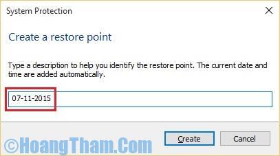 Cách sử dụng system restore