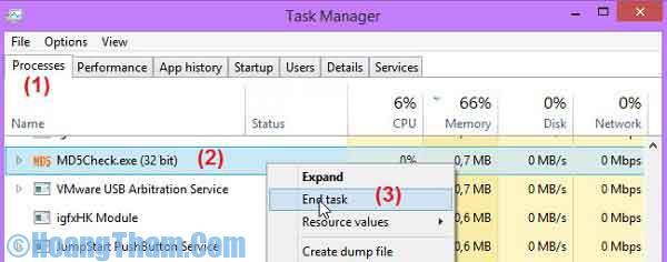 Xóa file cứng đầu trong máy tính