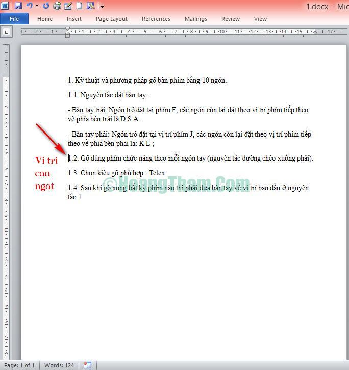 cách chèn thêm một trang mới trong word