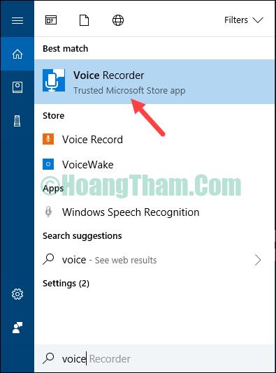 Cách ghi âm trên Windows 10 không cần phần mềm