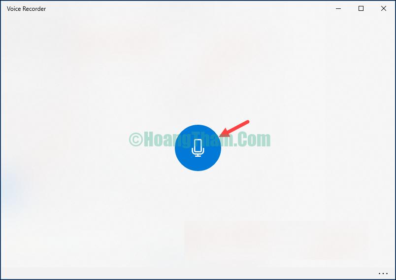 Cách ghi âm không cần phần mềm trên máy tính Windows 10