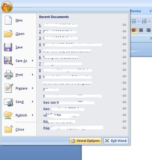 Cách bỏ dấu gạch đỏ gạch xanh trong Word Excel Powerpoint 111