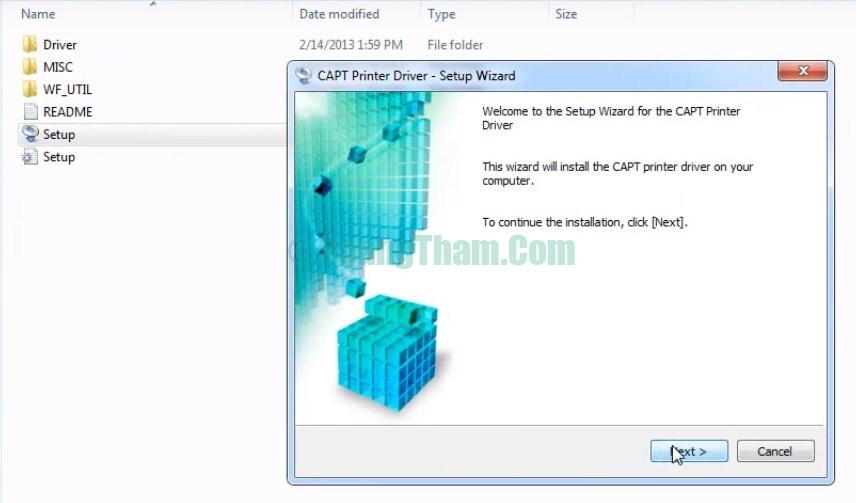 Cách download driver và cài đặt máy in canon lbp 2900 trên windows 3