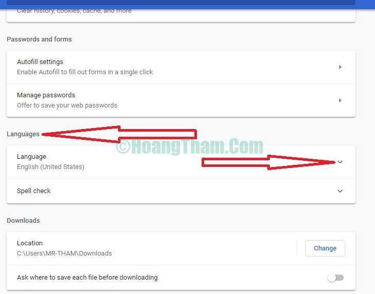 Hướng dẫn cài tiếng Việt cho Google Chrome 4