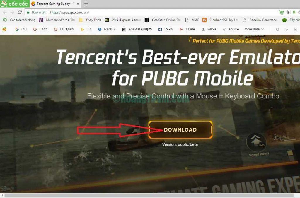 Hướng dẫn cách cách chơi pubg mobile trên pc 1