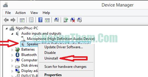 Cách sửa lỗi laptop không nhận tai nghe 4