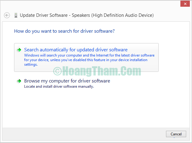 Cách sửa lỗi laptop không nhận tai nghe 7
