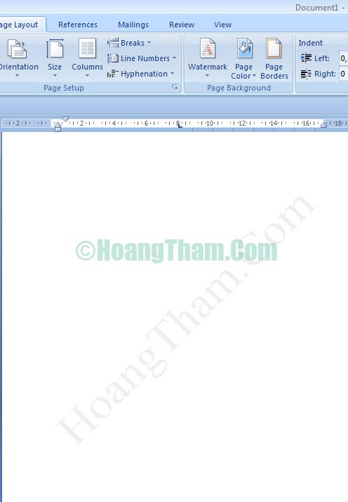 Cách chèn ảnh trong word - chèn logo và chữ watermark 10