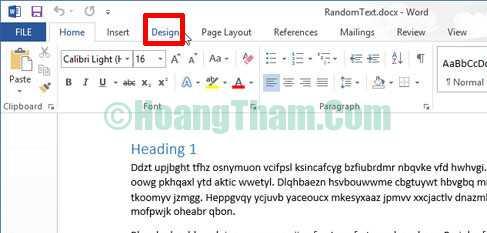 Cách chèn ảnh trong word - chèn logo và chữ watermark 11