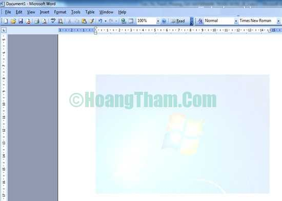 Cách chèn ảnh trong word - chèn logo và chữ watermark 5