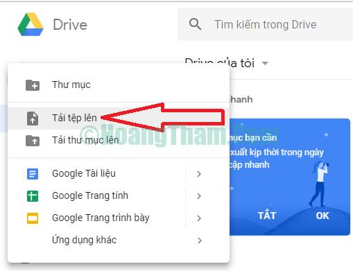 Cách chuyển hình ảnh sang văn bản bằng google drive 4