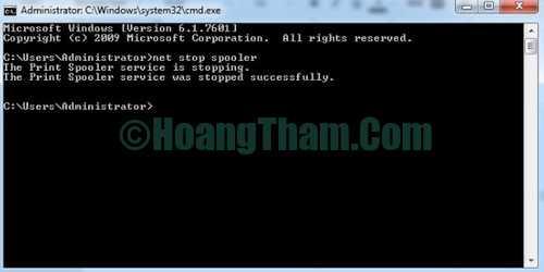 Cách hủy lệnh in đơn giản trên máy tính 2