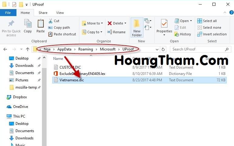 Cách kiểm tra lỗi chính tả tiếng Việt trong word 4