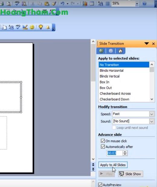 cách làm slide tự động chạy trong powerpoint 3