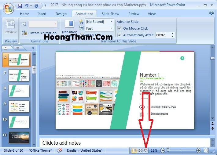 cách làm slide tự động chạy trong powerpoint 66