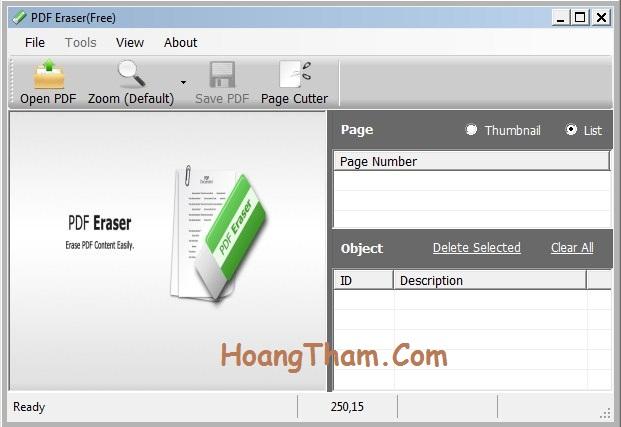 Hướng dẫn cách xóa chữ trong file pdf 1