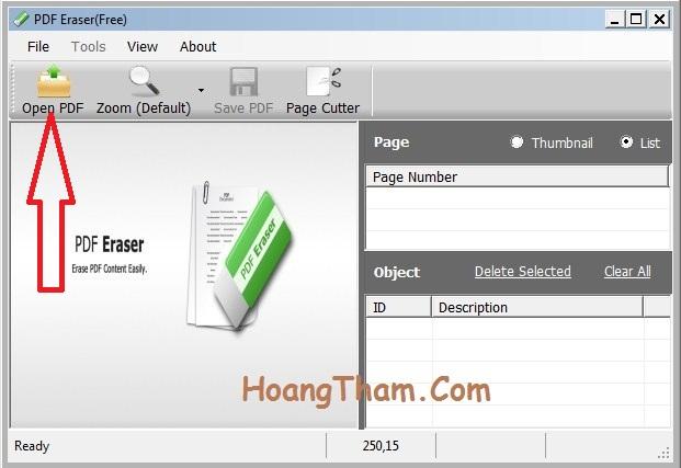 Hướng dẫn cách xóa chữ trong file pdf 2