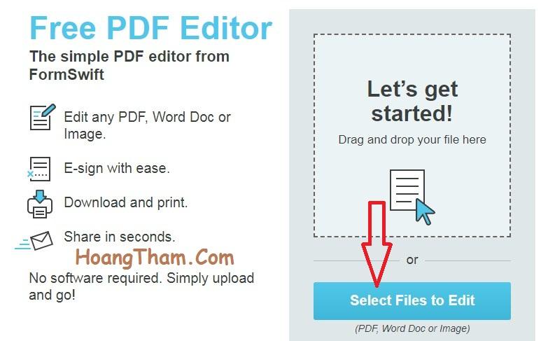 Hướng dẫn cách xóa chữ trong file pdf 6