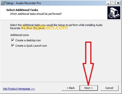 Phần mềm ghi âm trên máy tính Audio Recorder Pro 4