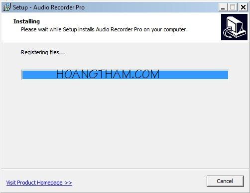 Phần mềm ghi âm trên máy tính Audio Recorder Pro 6