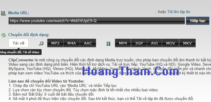 Cách tải video trên youtube về máy tính 555-6