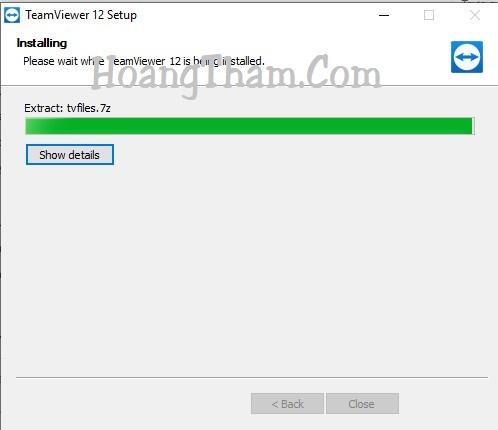 Teamviewer 12 - phần mềm điều khiển máy tính từ xa 4