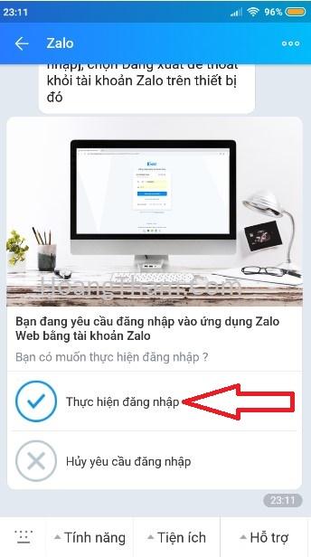 Cách đăng nhập zalo không cần mật khẩu và sđt 4222