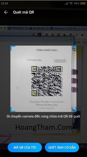 Cách đăng nhập zalo không cần mật khẩu và sđt 444