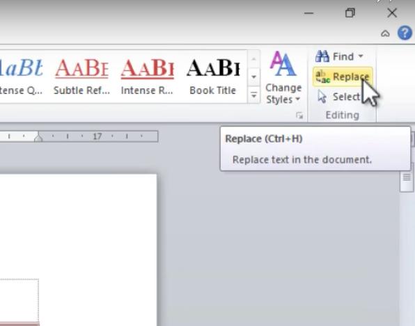 Tính năng tìm kiếm và sửa lỗi văn bản trong Word